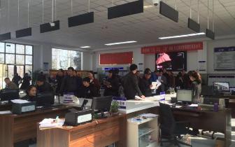 陕州区公安局车管所积极应对节后业务高峰