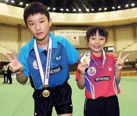 32场选拔赛仅输1场夺冠 张本智和妹妹入选日本国少