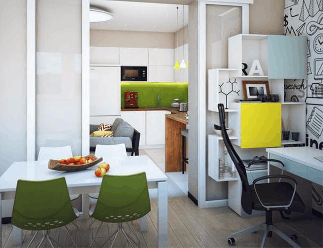 单身公寓还可以这样装,单身汪们要幸福了