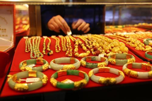 1-2月份黄金珠宝零售总额为509亿 较去年增长3%