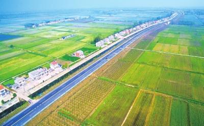 仙桃至赤壁公路洪湖段改建项目主体工程完工