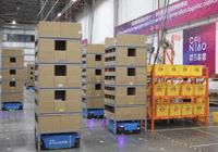 为应对双11物流  菜鸟首启机器人仓群