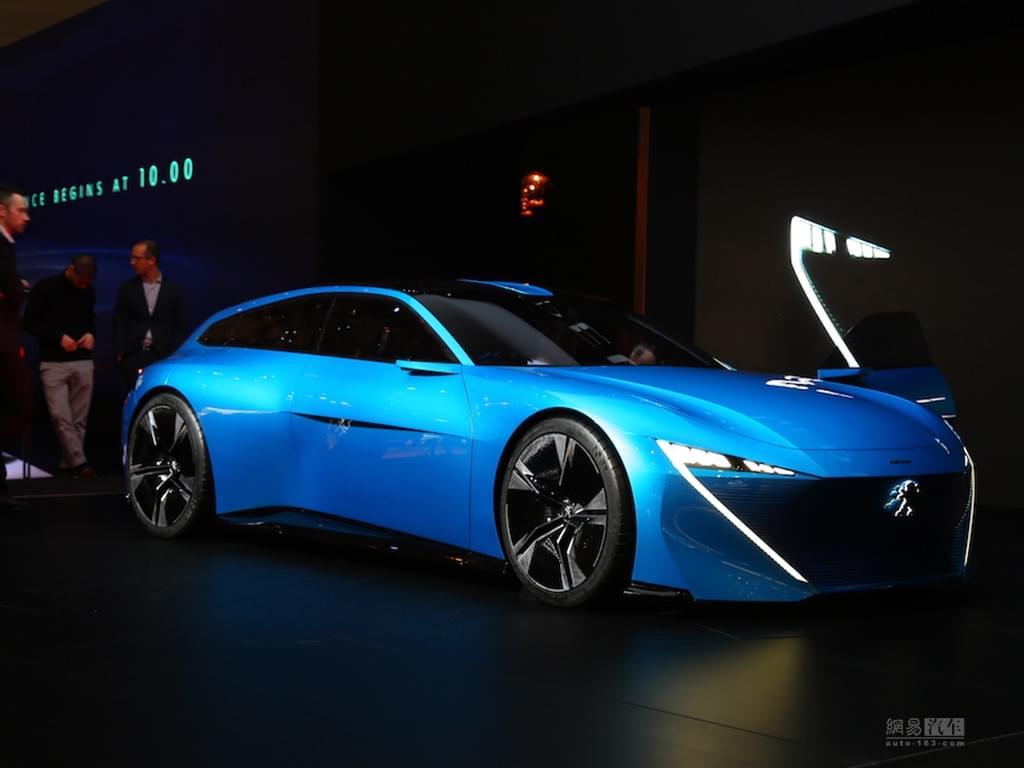 2017日内瓦车展:标致Instinct概念车发布