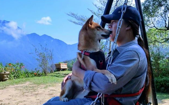 看这位主人与自家柴犬走遍台湾两万公里