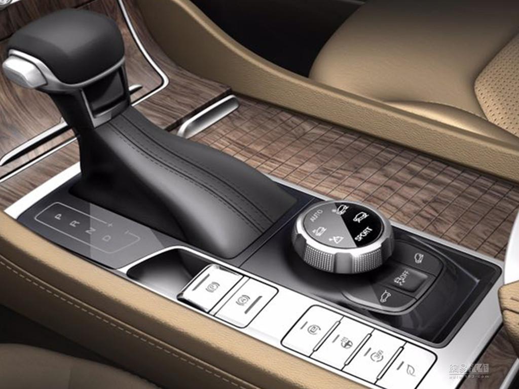 配备驾驶模式选择系统 荣威RX8内饰发布