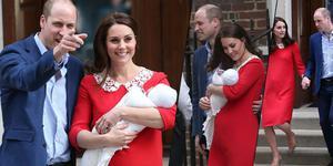 凯特王妃诞下第3子 与威廉王子抱小王子亮相