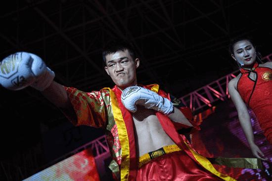 中国拳王赛三战天津 施国军陈大祥恩仇录争金腰带