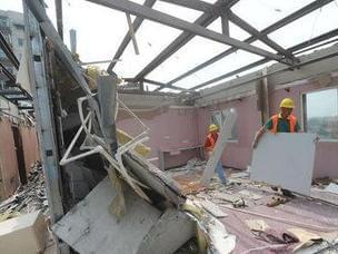 正阳门火车站旧址周边3600平米违建拆除