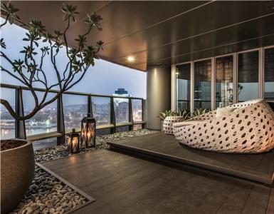疗愈系美式装修风格样板间 极具质感的海港大宅