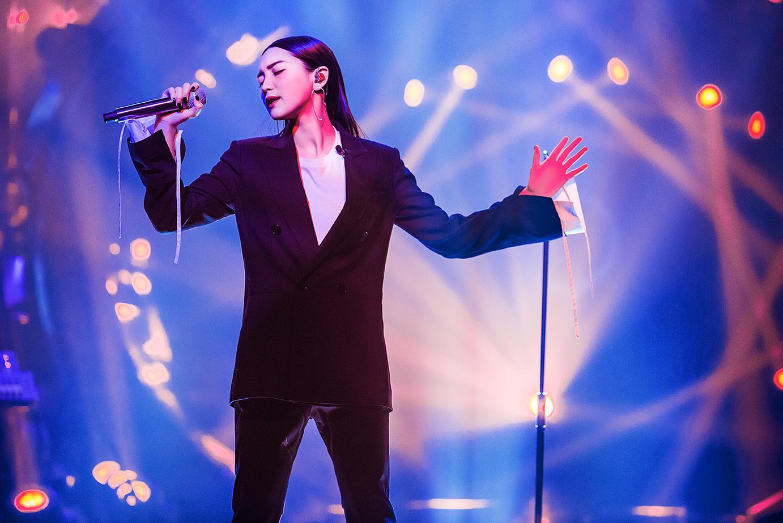 《歌手》张天不惧与Jessie J比较 想创造自己风格