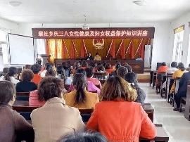 闻喜裴社乡开展庆三八女性健康及妇女权益保护知识讲座