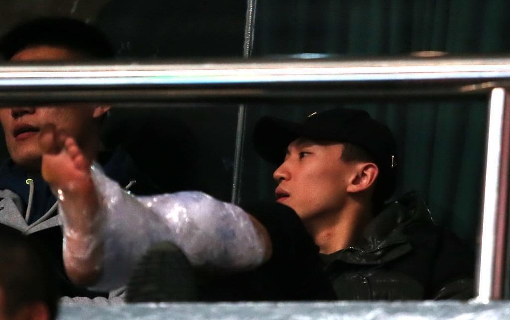 刘晓宇因伤缺席联赛前9