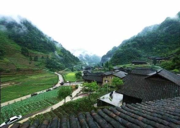 武隆土家传统古村落---犀牛古寨