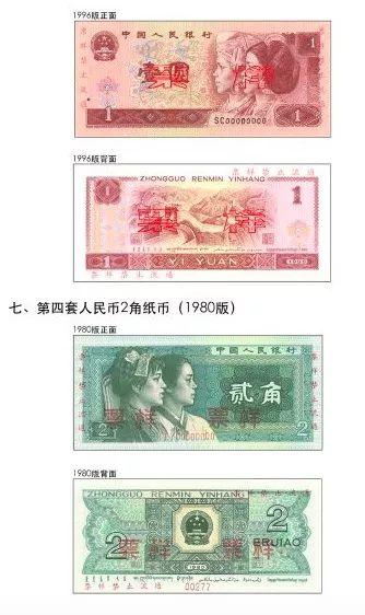 央行独家释疑:为何停止第4套人民币部分券别流通?