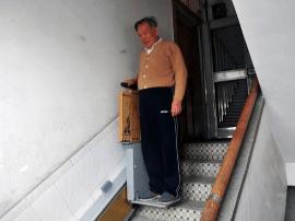 越秀现出行利器:楼道电梯 业主同意即可安装
