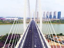 """青山大桥已通车 凤岭北去五象新区可""""直线""""到达!"""