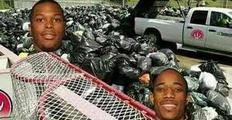 垃圾兄弟怎么从垃圾桶里爬出来的?