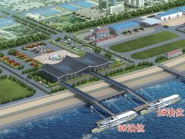 """琅岐对台客运码头18年投用 """"两马""""船程时间减半"""