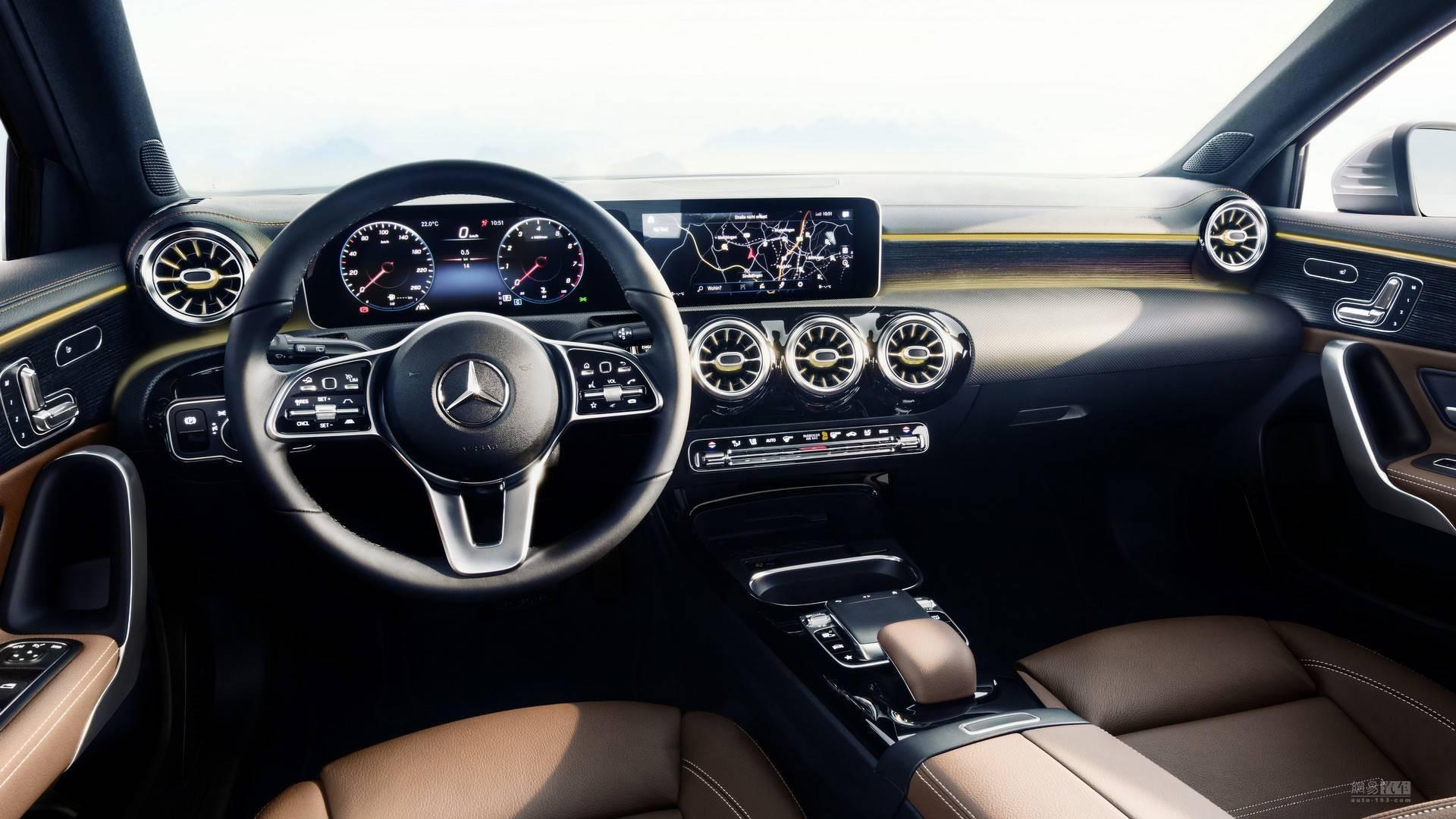 10.25寸大屏 新一代奔驰A级有望3月发布