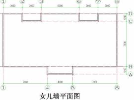 13清单算量实例讲解:女儿墙清单工程量