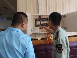 运城空港消防大队开展电气火患排查工作