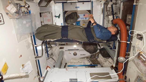 理论8小时实际5小时 宇航员如何才能睡得更香?