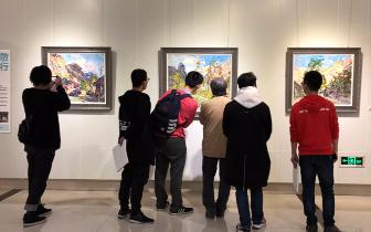 """重庆油画家""""致敬太行"""" 展现时代担当感"""