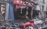 山东一商铺发生剧烈爆炸