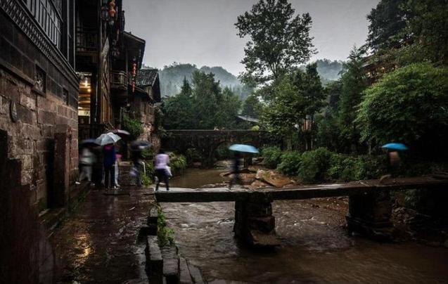 中国最爱下雨的城市