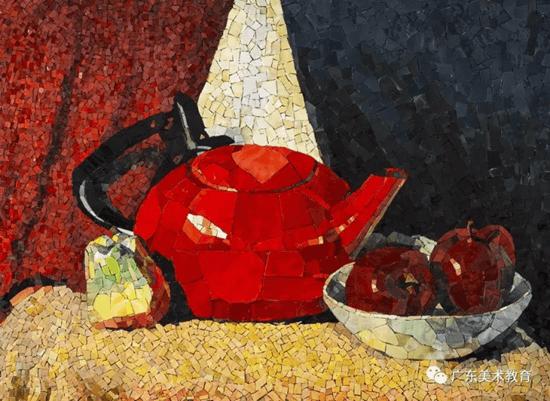 镶嵌中国-马赛克艺术邀请展 作品欣赏