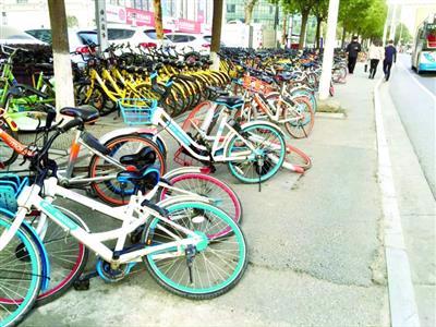 共享单车使用便捷乱停扰民 怎样才能既便民又不扰民