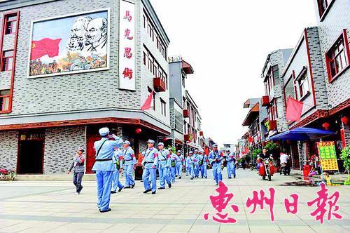 高潭红色旅游不断升温 为当地发展注入了新的活力