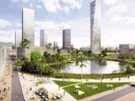 大运新城商务片区完成土地征转 668米新地标美翻了