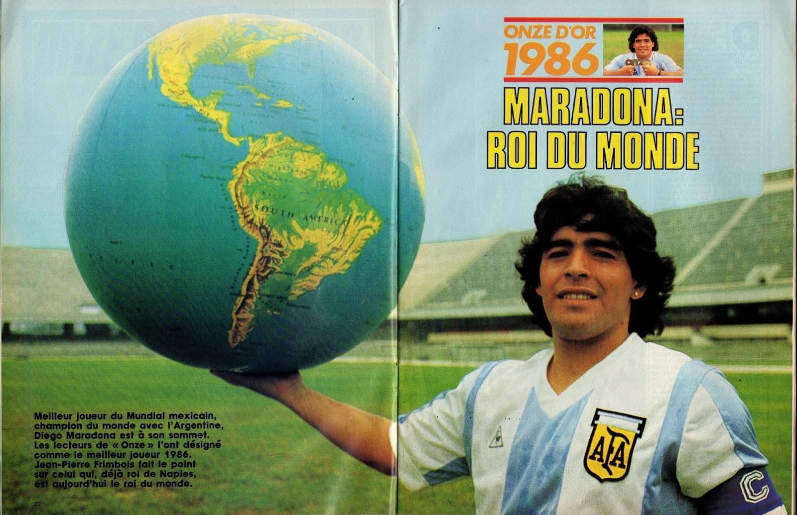 败给国足的阿根廷2年后夺世界杯,神魔一体的马拉多纳真是大骗子?