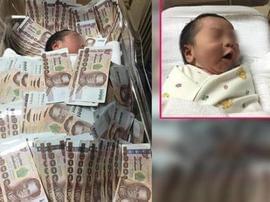 婴儿盖40万睡 系土豪阿姨送的出生礼物