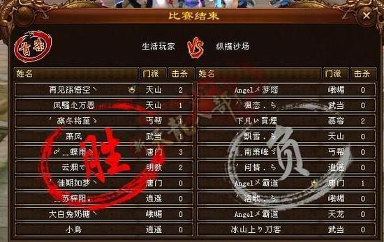 《天龙八部》全球争霸赛:32进16比赛之C组战况