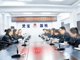 灵宝市国税局:一堂生动的党课