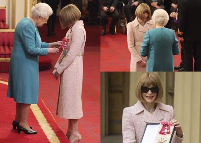 《穿普拉达的恶魔》原型获英女王授勋 成女爵士