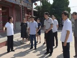运城市委讲师团一行在闻喜县调研裴氏文化传承工作