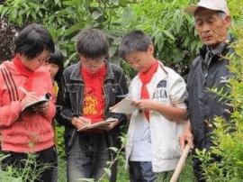 42名小学生走进生态植物园体验科普之旅