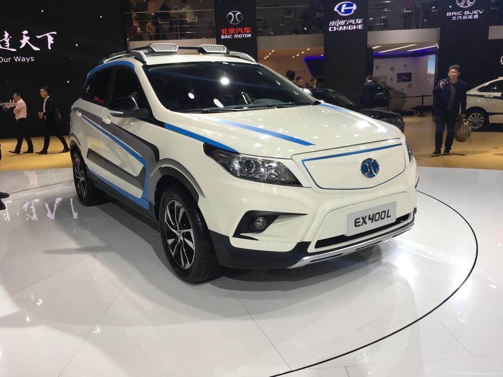 2017上海车展:北汽新能源EX400L发布
