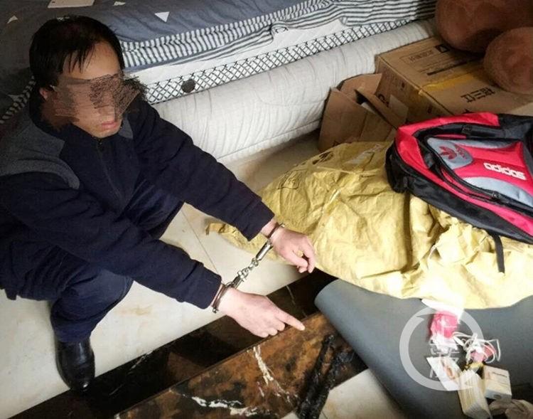 小偷白天入室环保装修材料有哪些行窃 结果偷到警察家中被抓个正着