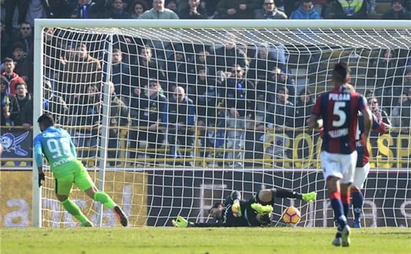 巴尔博萨意甲处子球 国米1-0客胜博洛尼亚