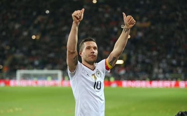 波多尔斯基进球完美告别 德国1-0英格兰