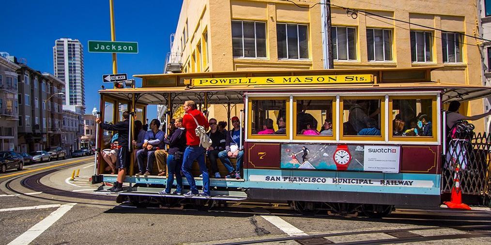 见识旧金山叮铛车 感受美国历史风光