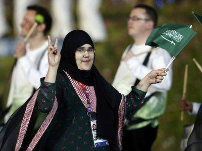 沙特历史上第一位女性奥运选手沙赫卡尼