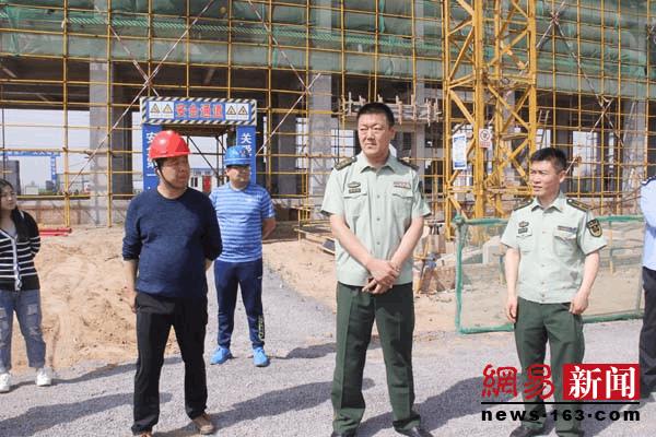 运城消防支队政委靳卫平督导闻喜消防站建设