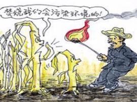 灵宝市川口乡狠抓秸秆禁烧 宣传治理工作