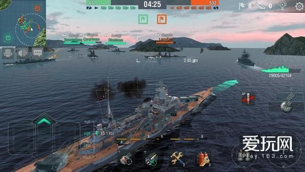 海上大战一触即发《战舰世界闪电战》软登陆