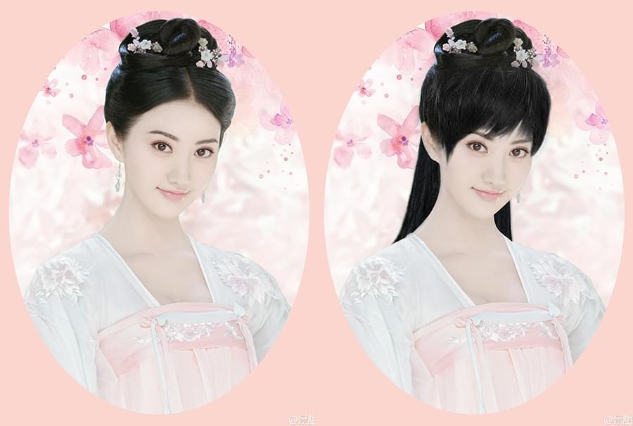 景甜疑主演《火王》 造型是有刘海的沈珍珠?